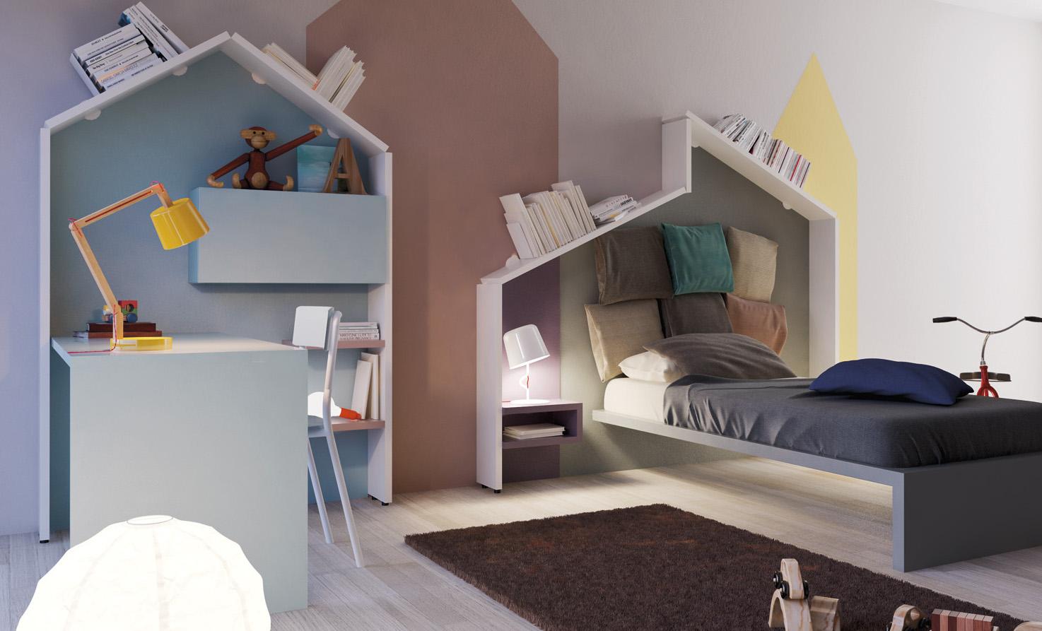 Camerette piccoli spazi soluzioni camerette per piccoli - Soluzioni letto per piccoli spazi ...